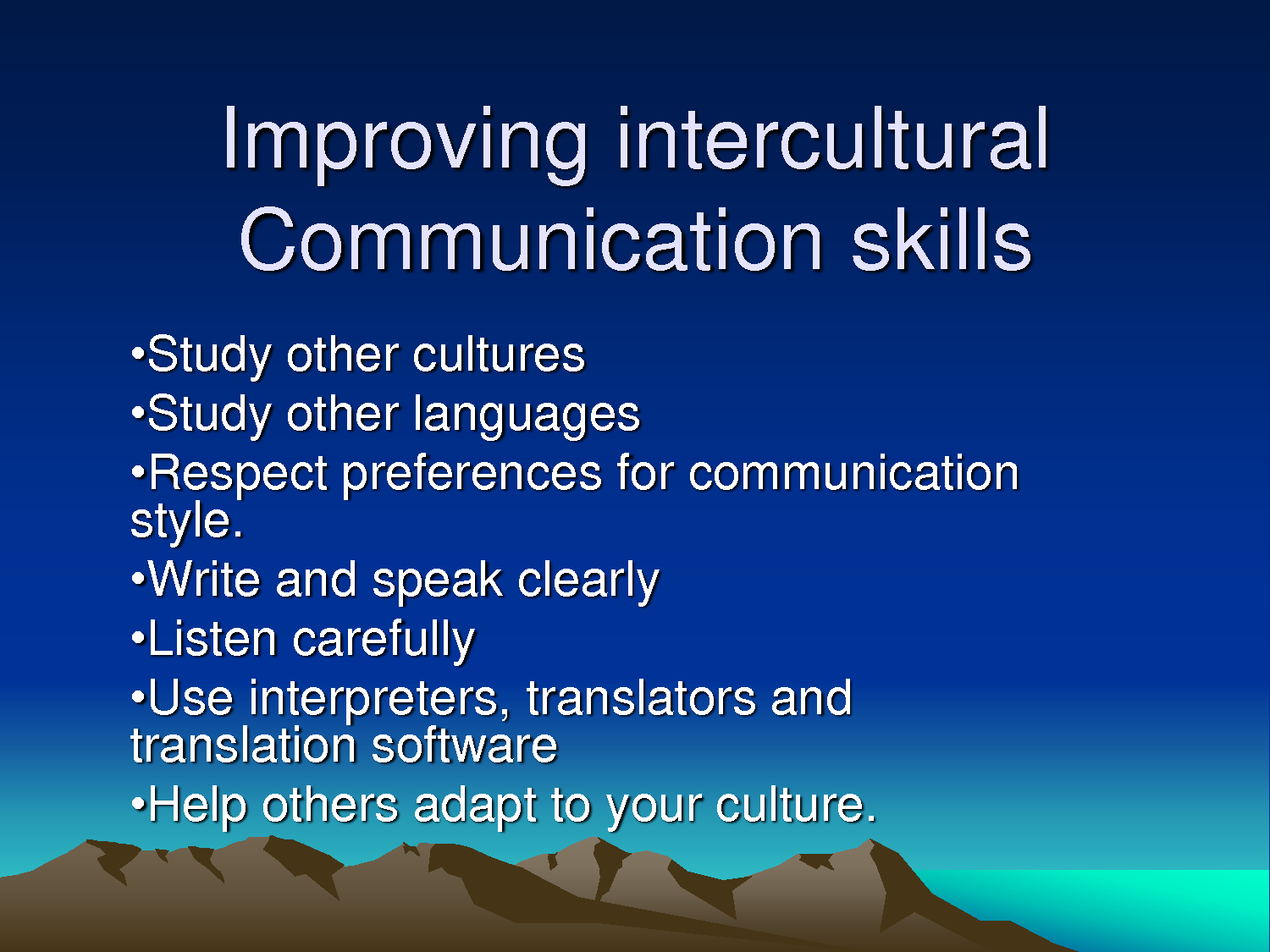 intercultural business communication assignment Comm 102 entire course linkhttps: or linkedin profile that you believe commits an intercultural communication error--one which fails to consider the needs of at least some of its target refer back to ch 14 in excellence in business communication for effective presentation techniques.
